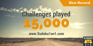 More than 15000 sudoku fights finished so far